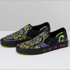 Vans NIGHTMARE BEFORE XMAS slip ons